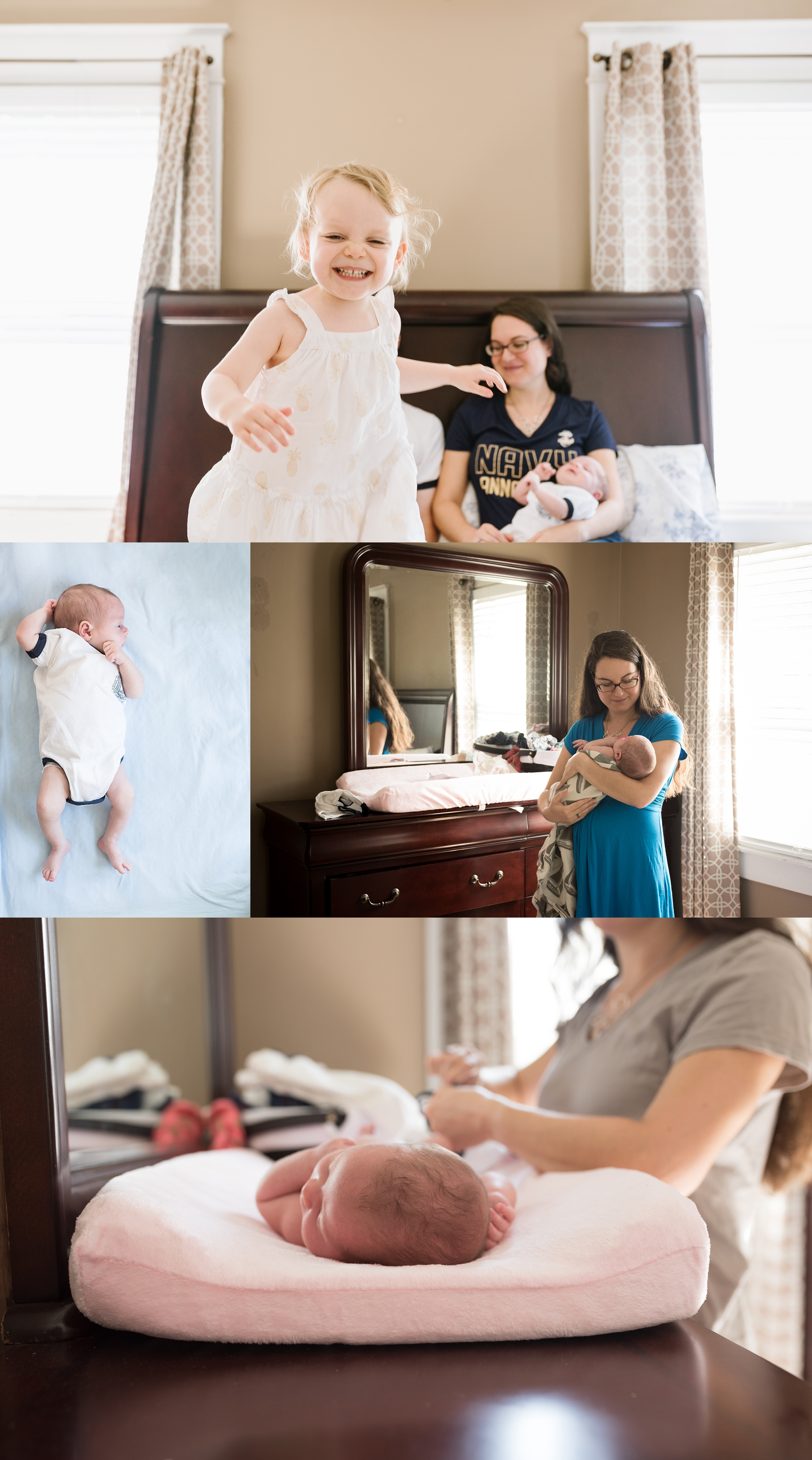 Virginia Beach photographer, lifestyle in-home session, baby photos