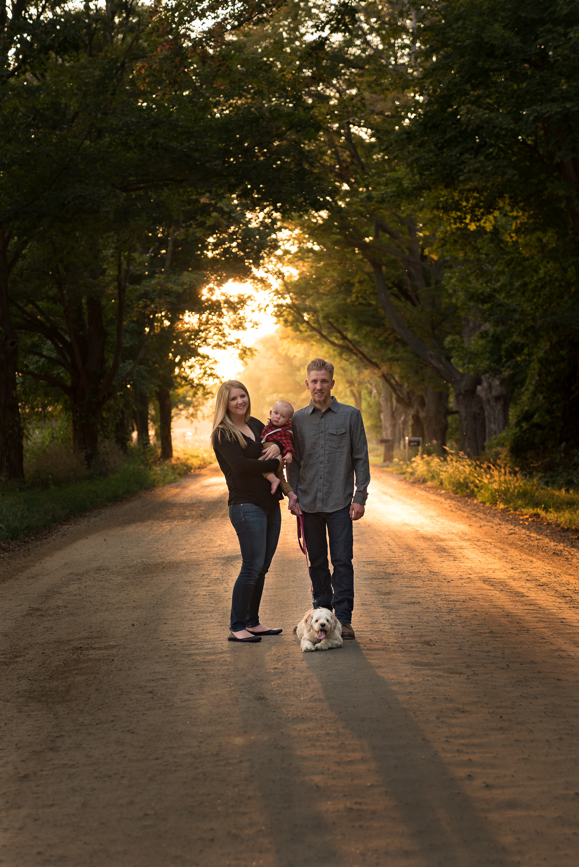 Virginia Beach family photographer, Grand Rapids MI fall family photo